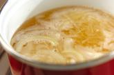 せん切りジャガイモのスープの作り方1