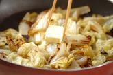 白菜のガーリックバター焼きの作り方2