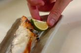 鯛のグリル塩焼きの作り方2