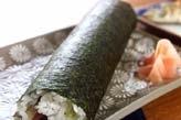 節分の巻き寿司(恵方巻き)