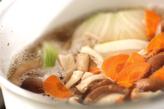 鶏唐の卵とじの作り方2