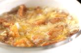 鶏唐の卵とじの作り方4