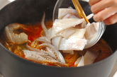 たっぷり魚介のスープの作り方3