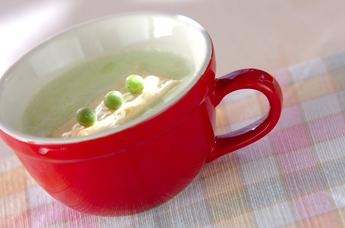 エンドウ豆のスープ