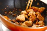鶏ささ身の甘辛炒めの作り方3