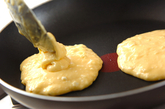 ハワイアンパンケーキプレートの作り方2