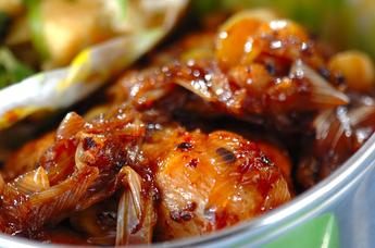 鶏肉の豆豉醤炒め