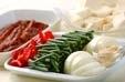 ウナギと豆腐の炒め煮の下準備3