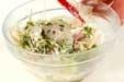レンコンのサラダの作り方2