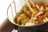 白菜漬けのあんかけにゅうめんの作り方2