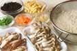 キノコ入りヒジキご飯の下準備1