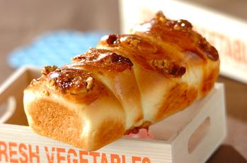 クルミとキャラメルのおやつパン