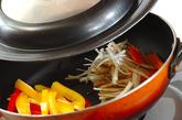 鶏と豆腐のつくね丼弁当の作り方4