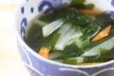 ワカメスープ
