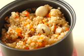 中華おこわ風炊き込みご飯の作り方3
