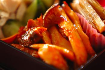 豚バラ肉のケチャップ炒め