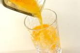 パインオレンジジュースの作り方1