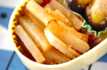 レンジ長芋焼き肉風味