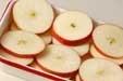 リンゴのドーナツ風の下準備1