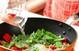 モロッコインゲンの煮物の作り方2