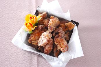 オレンジ風味の鶏唐揚げ