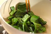 小松菜の甘辛炒めの作り方2