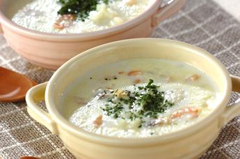 シーフードクリームスープ