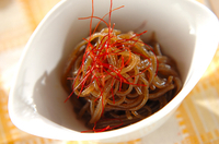 糸コンニャクのすき焼き風