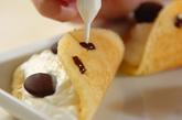 パンダのオムレツケーキの作り方6