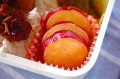 サツマイモのハチミツ煮