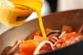 トマタマエスニックあんかけ丼の作り方2