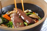 エスニック風カルビ丼の作り方3