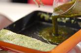 アオサ入り卵焼きの作り方2