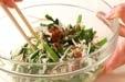 エノキの梅おかか和えの作り方2