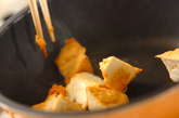 厚揚げのみそ炒めの作り方2