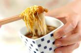 たっぷりキノコののり素麺の作り方3