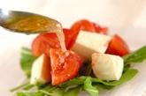 トマトとモッツァレラのサラダの作り方2
