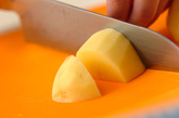 ジャガベーコン煮の下準備1