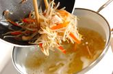 モヤシのこっくりみそ汁の作り方2
