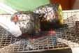 焼きパプリカ2色マリネの下準備1