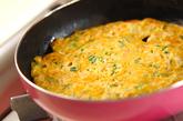 エビと大根の卵焼きの作り方3