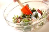 大和芋入り海藻サラダの作り方1