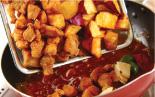 金時芋入り酢豚の作り方3
