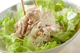 塩麹豚しゃぶのオニオンサラダの作り方4