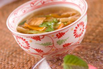 厚揚げのスープ