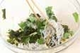 油揚げとジャコの酢の物の作り方1
