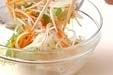 モヤシの甘酢の作り方2