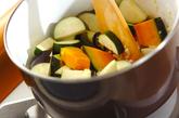 夏野菜のくったり煮の作り方1