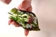 手巻き寿司の下準備9