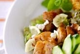 鶏照り焼きサラダ仕立て